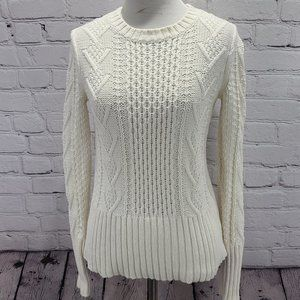 GAP cable knit sweater long sleeve